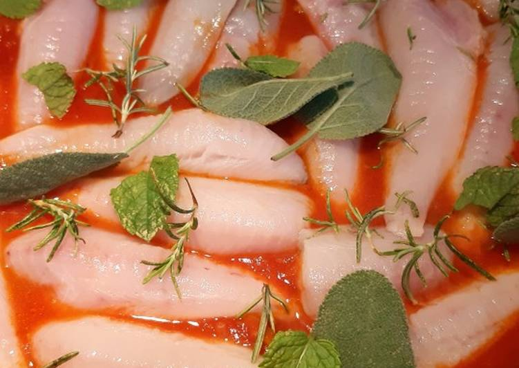 Ricetta Gallinella al pomodoro in umido