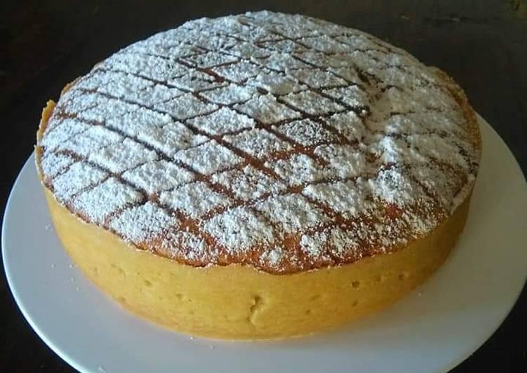 Cake ricotta e panna