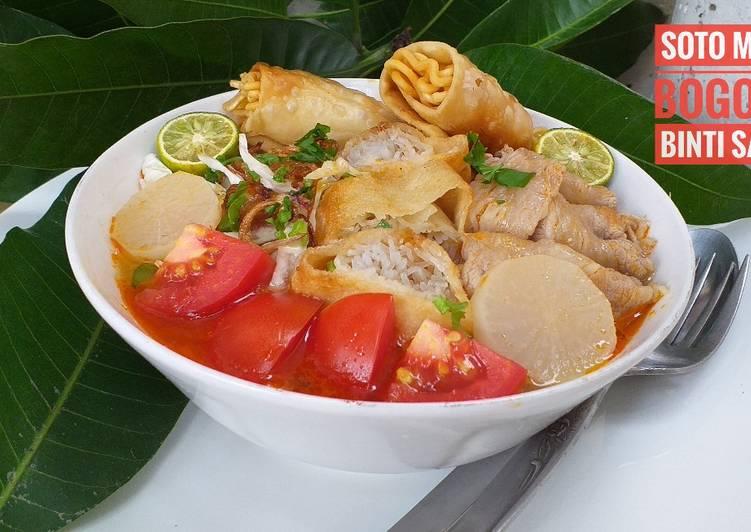 Soto Mie Bogor + Risol Garing