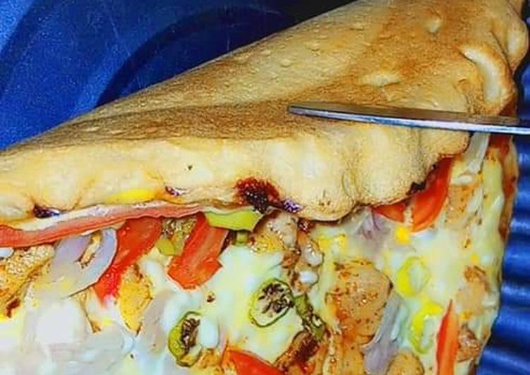 30 Minute Steps to Make Super Quick Homemade Anday wala pizza