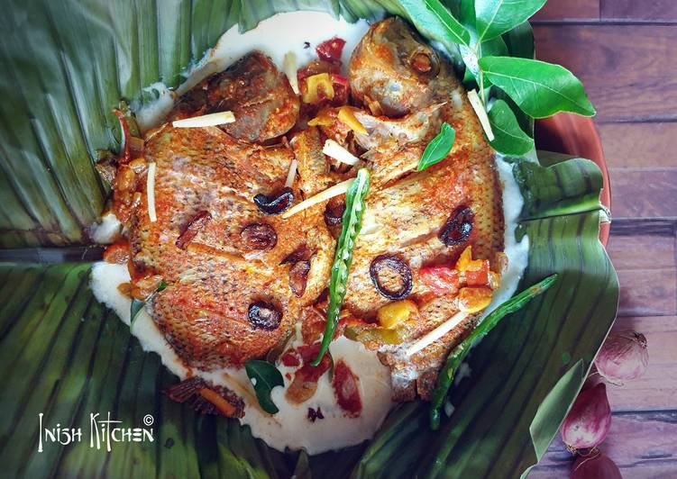 What is Dinner Ideas Autumn Steamed Fish Masala in Coconut Gravy