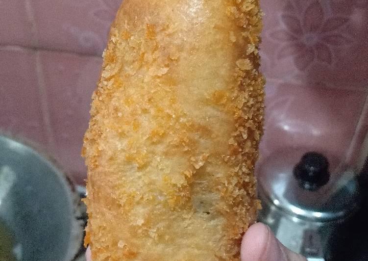 Roti Goreng isi raugut