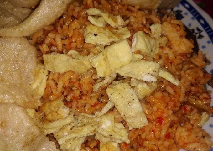 Nasi Goreng Teri Padang
