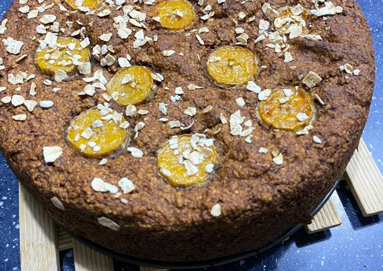 Recipe: Tasty Gluten, dairy, egg free banana cake