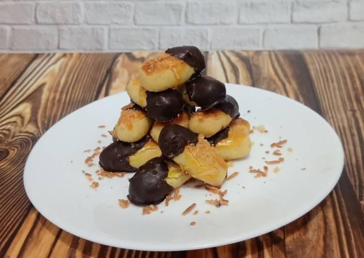 Cara Gampang Membuat Kaastengel coklat Anti Gagal
