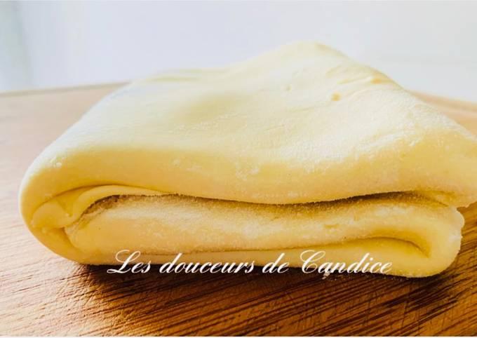 PÂTE FEUILLETÉE RAPIDE : recette de Christophe Felder