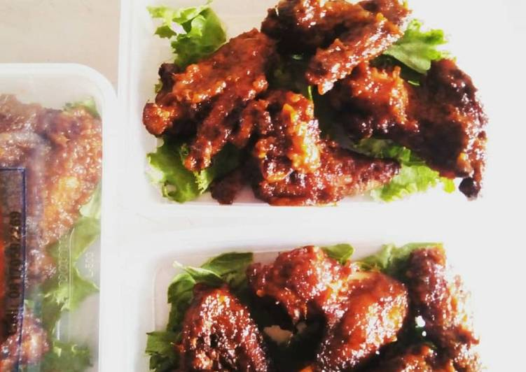 Step-by-Step Guide to Prepare Perfect Peppered chicken wings