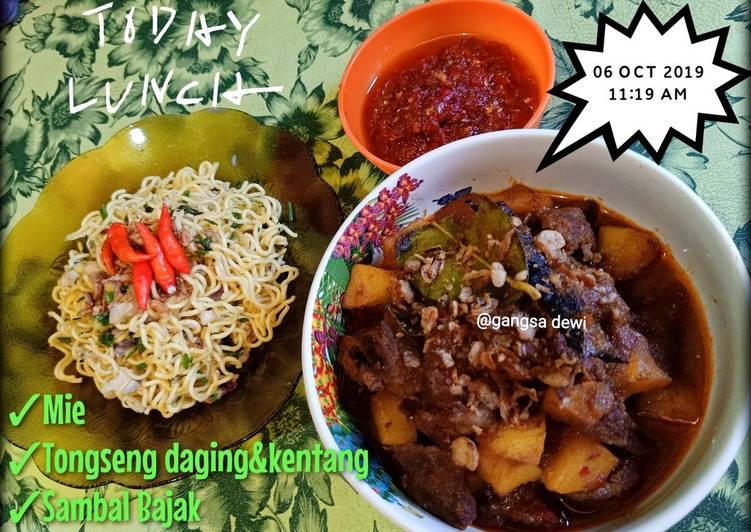 Tongseng Daging Sapi & Kentang