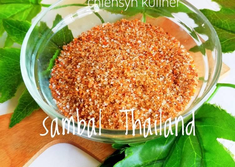 Sambal Thailand
