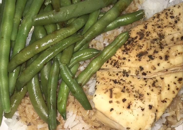 Easiest Way to Make Award-winning Crock Pot Chicken with Green Beans