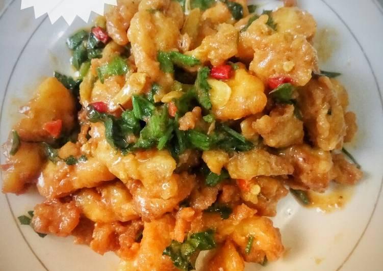 Resep Dori Krispi Saus Telur Asin Istimewa Terbaik Top