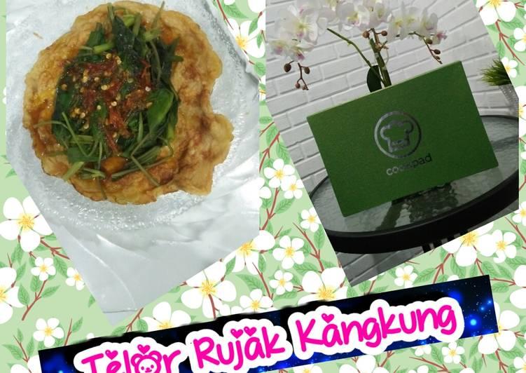Telor Rujak Kangkung