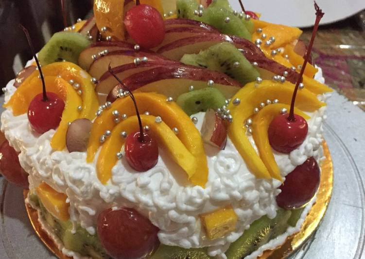 Easiest Way to Prepare Quick Fruit cake