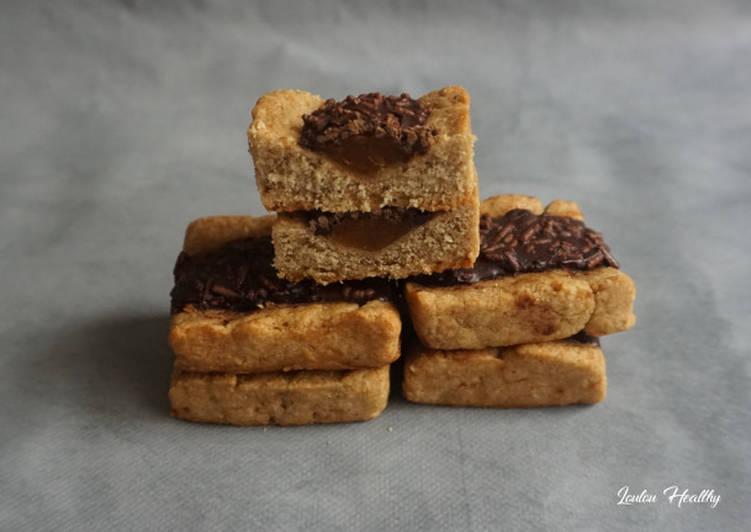 Recette Parfait Biscuits au chocolat fourrés abricot