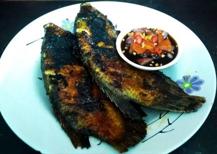 Ikan Gurame Bakar Sambal Kecap