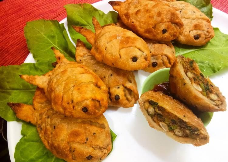 15 Minute Recipe of Award Winning 6-Lentils Samosa