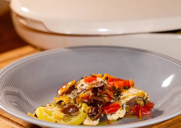 Ricetta Ricciola al Limone Cartoccio (Healthy Edition)
