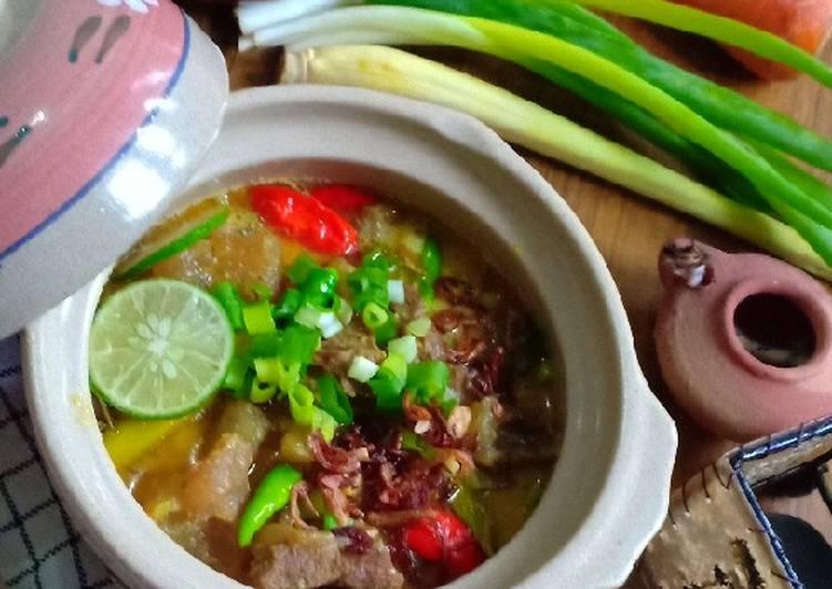 Cara Membuat Empal Gentong Khas Cirebon simpel
