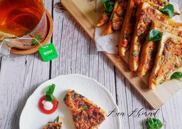 Resepi:  Roti sardin PKP  Enak