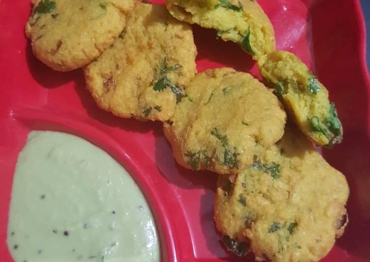 Vadai(masala vada) Deciding on Healthy Fast Food