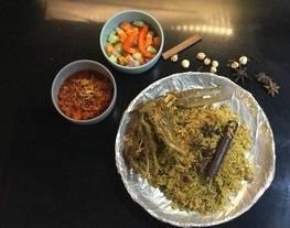 Nasi Kebuli atau nasi mandhi