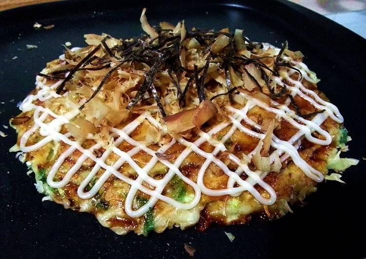 How to Make Quick Okonomiyaki ~ Japanese flavor