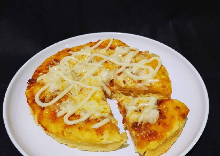 16. Pizza Teflon Empuk 💕