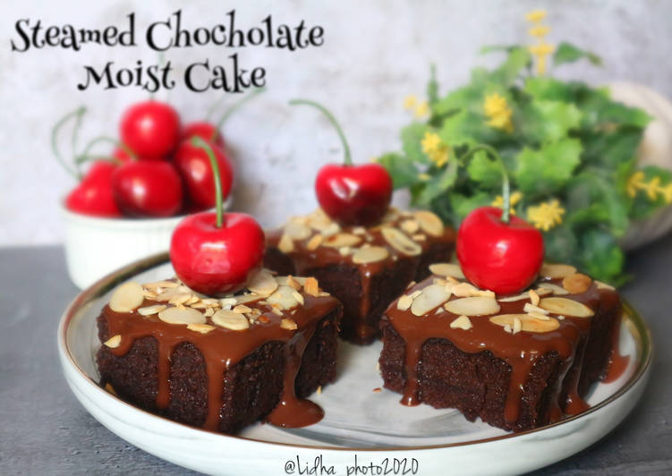 Steamed Chocholate Moist Cake