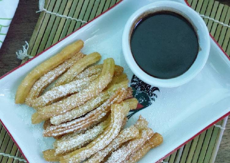 Churros with Dip Chocolate