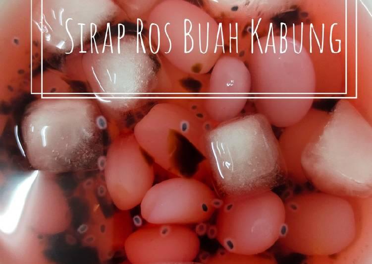 Sirap Ros Buah Kabung - resepipouler.com