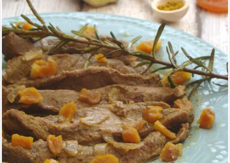 Aiguillettes de canard  aux épices douces