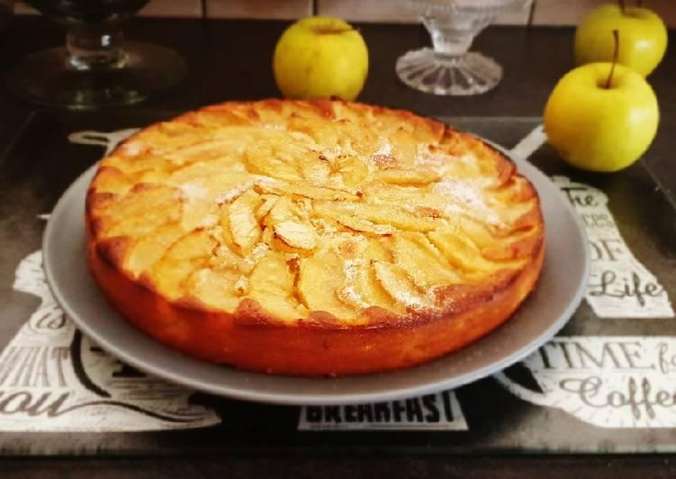 Recette: Gateau moelleux pommes cannele 🍏🍎
