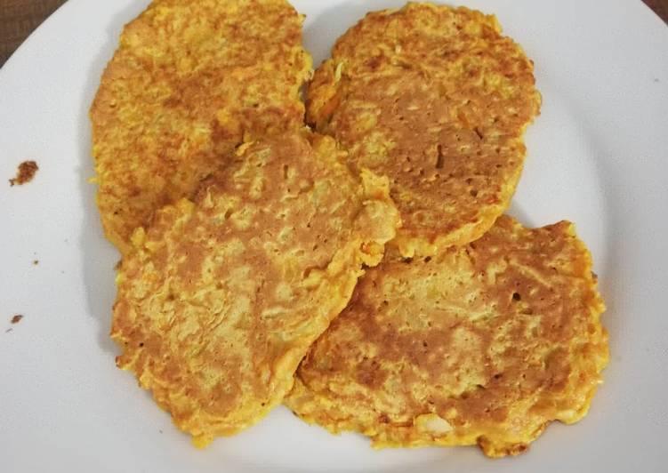 recette Galettes de patate douce Le plus simple