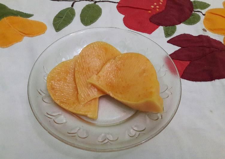 Puding Nutrijel mix Labu Kuning