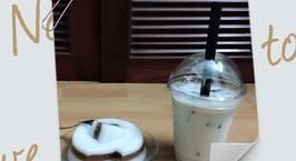 Hình ảnh món Thạch cacao nước cốt dừa/ Trà sữa vị táo
