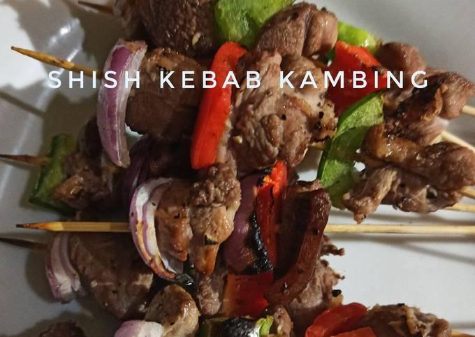 Shish Kebab Kambing