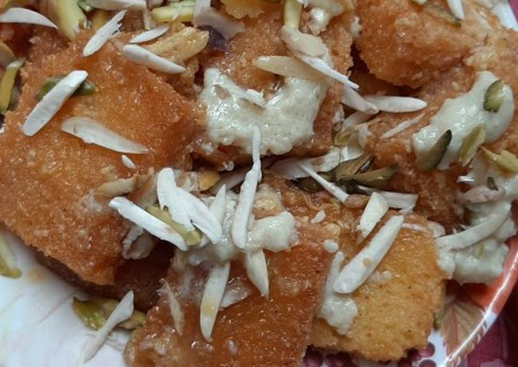 Step-by-Step Guide to Prepare Any-night-of-the-week Double ka meetha