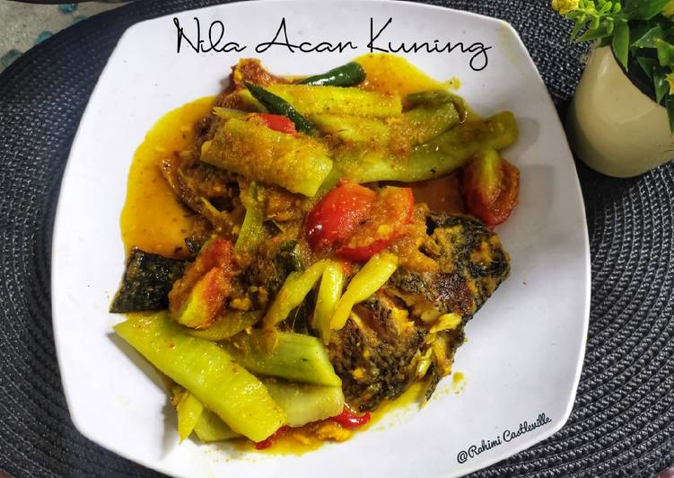 Nila Acar Kuning - cookandrecipe.com
