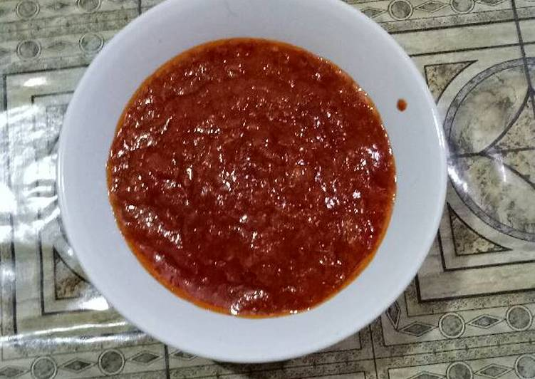 Resep Sambal Ayam Bakar Oleh Aristio P Putra Cookpad