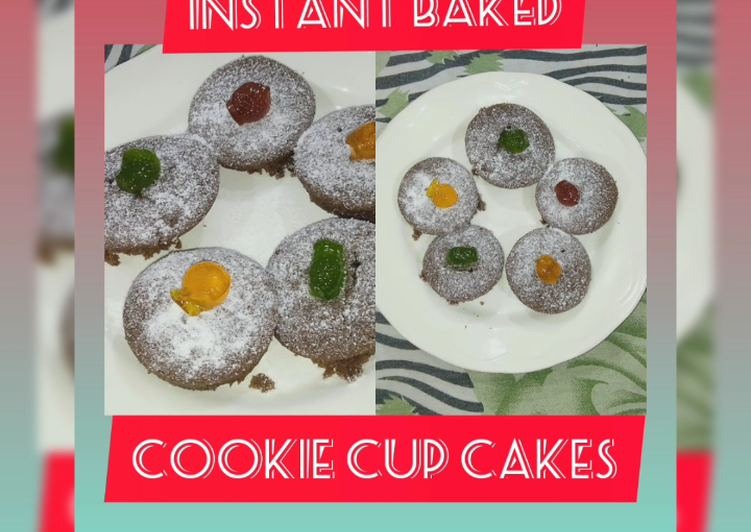 Simple Way to Prepare Favorite Instant Baked Cookie Cupcakes