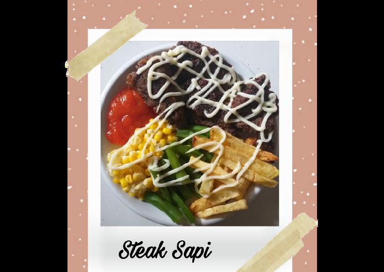 steak sapi foto resep utama