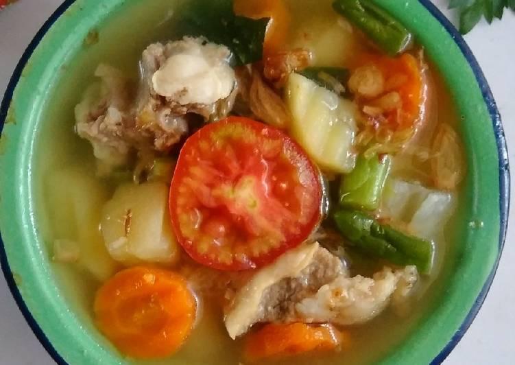 Sup kampung (jadul)