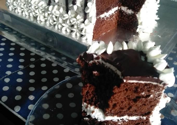 Sponge Cake Coklat Basic Kue Tart