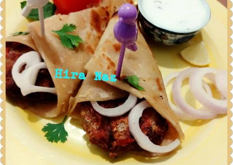 Recipe of Any-night-of-the-week PESHAWRI Chapali Kabab