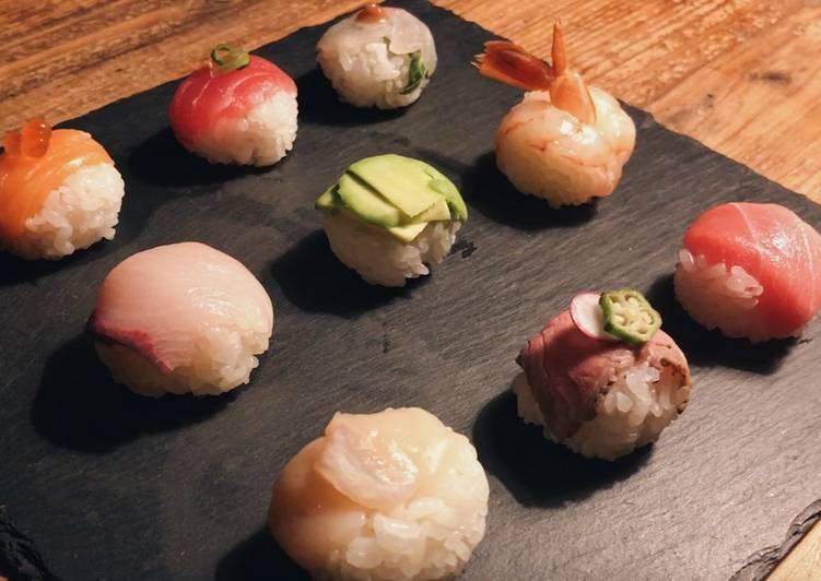 How to make easy temari sushi(sushi ball)