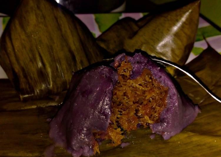 Kue bugis ubi ungu - cookandrecipe.com