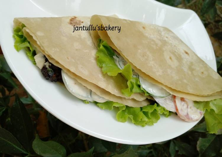 Recipe of Homemade Pita pocket Sandwich