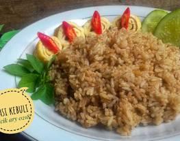 Nasi kebuli dari nasi semalam