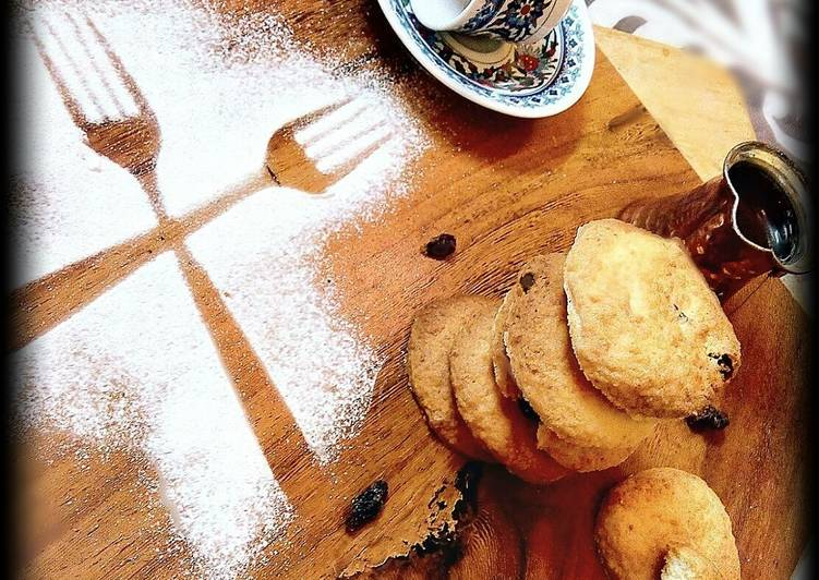 Coconut Butter Cookies(market style)