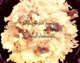 Nasi kebuli (nasi Khas Arab)